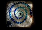 A Glass Spiral Window